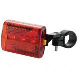 Tylne światło rowerowe Czerwony 10021300