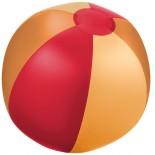Piłka plażowa Trias Czerwony 10032102