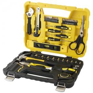 Zestaw narzędzi 47 części czarny,Zólty 10407400