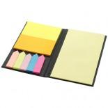 Notesik z karteczkami samoprzylepnymi Eastman czarny 10618400