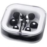 Kolorowe słuchawki czarny 10812800