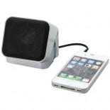 Głośnik Mini Cube Srebrny,czarny 10816100