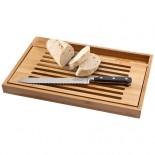 Deska do krojenia wraz z nożem do pieczywa Drewno 11256500