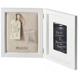 Ramka na zdjęcie oraz tablica pamiątkowa Davenport bialy 11257700
