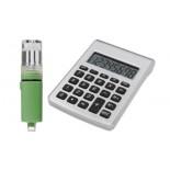 Kalkulator zasilany na wodę, kolor srebrny, czarny