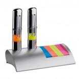 CrisMa stojak na biurko z karteczkami, kolor szary 1175107