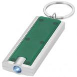 Brelok Castor z diodą LED Zielony przezroczysty 11801205