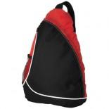 Trójkątna torba na ramię czarny,Czerwony 11950901