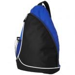 Trójkątna torba na ramię czarny,Szafir 11950902