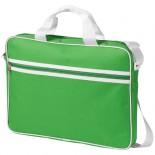 Torba konferencyjna Knoxville na laptop 15.6'' Zielony,bialy 11991005