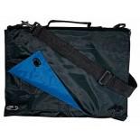 Torba konferencyjna LUIS niebiesko-czarna, materiał nylon 70d, kolor niebieski 14302-03