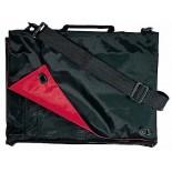Torba konferencyjna LUIS czerwono-czarna, materiał nylon 70d, kolor czerwony 14302-04