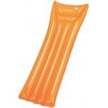 Materac dmuchany pomarańczowy, materiał pvc, kolor pomarańczowy 14523-07