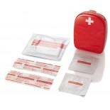 Zestaw pierwszej pomocy, materiał tworzywo, kolor czerwony 14626