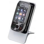 Stojak na telefon komórkowy, materiał tworzywo, kolor srebrny 14633