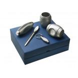 Komplet na biurko , materiał metal, kolor srebrny 17091