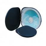 Etui na 6 CD czarne, materiał aluminium, kolor czarny 17321-02