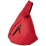 Plecak miejski trójkątny Brooklyn Czerwony 19549403