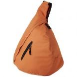 Plecak miejski trójkątny Brooklyn Pomaranczowy 19549407