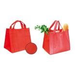 Torba GREEN BAG czerwona, materiał polipropylen 120g/m, kolor czerwony 20224-04