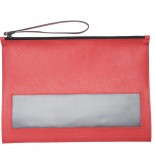 Piórnik z notatnikiem, kolor czerwony 2746205