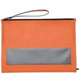 Piórnik z notatnikiem, kolor pomarańczowy 2746210