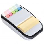 Stojak na biurko z karteczkami, kolor biały 2769406
