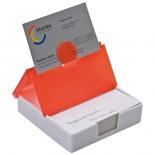 Stojak na biurko z karteczkami, kolor czerwony 2827105