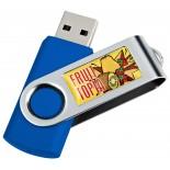 Pendrive z metalu i plastiku 8GB, kolor niebieski 28726D04 8GB