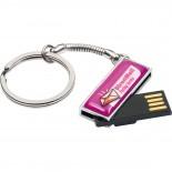 Mały pendrive pod doming 4 GB, kolor szary 2873807