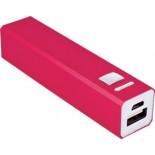 Power bank 2200 mAh, kolor czerwony 2874405