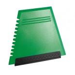Skrobaczka prosta zielona, materiał tworzywo, kolor zielony 29051-05