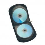 Etui na płyty CD/DVD, kolor czarny 2906203