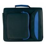 Luksusowa teczka A4 z segregatorem, kolor niebieski 2908104