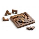 Układanka , materiał drewno sheesham, kolor brązowy 31029