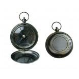 Kompas kieszonkowy, materiał mosiądz, kolor żółty 31037