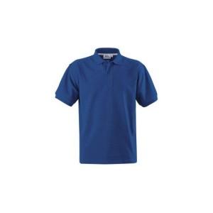 Slaz Cotton polo Mid blue XXXL, kolor niezapominajka, rozmiar XXXL