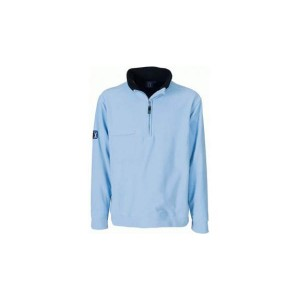 Bluza Hole, kolor jasnoniebieski, czarny, rozmiar XS
