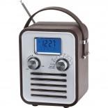 Radio, kolor brązowy 3776901