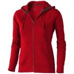 Bluza z kapturem Arora damska Czerwony 38212253