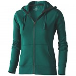 Bluza z kapturem Arora damska Forest green 38212600