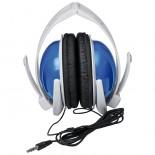 Duże słuchawki, kolor niebieski 3882104