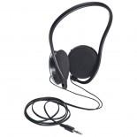 Zestaw czarnych słuchawek, kolor czarny 3882203