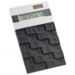 Kalkulator z gumową klawiaturą, kolor czarny 3886203