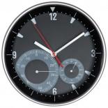 Zegar ścienny, kolor czarny 4122303