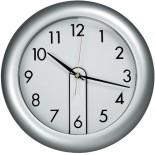 Zegar ścienny, kolor szary 4123607