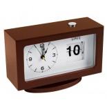 Zegar biurkowy, kolor brązowy 4125601
