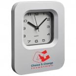 Zegar biurowy i ścienny, kolor biały 4277306