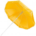 Parasol plażowy, kolor żółty 5507008