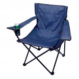 Krzesełko składane, kolor granatowy 5510444